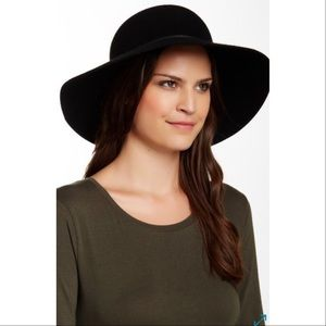 Phenix Black Floppy Hat